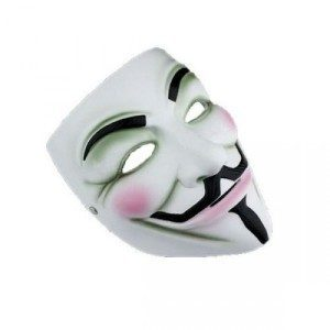 Anonymous/V-for vendetta Maske
