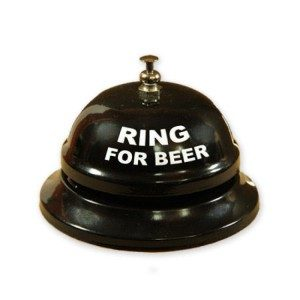 "Ringeklokke - ""Ring for beer"""