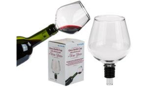 Vinglass til vinflaske